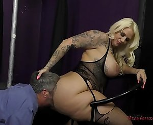 Big Ass Face-sitting Lap Dance - Lucky B