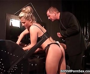 Strange action full with BDSM play