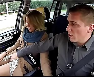Beautiful Russian banged by taxi driver