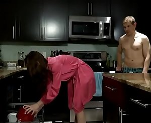 Son forces mom in fucked