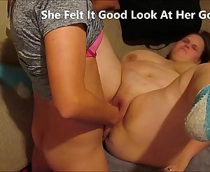 Pissed off wifey gets cooled off when guy pulls out and rams inside her tight asshole making her scream bareback pussy creampie