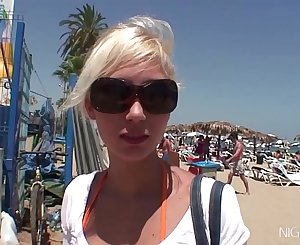 Anal slut Cristal Moranti looking for a party in Ibiza