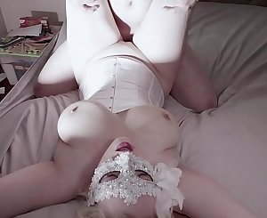 Real Amateur Big Tits Blonde Blowjob and Fucked Hard Cream Pie