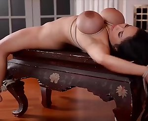 Anita B.'s Vagina and Ass Crammed by Two Masters in Intense DP BDSM Scene
