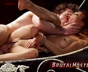 Inexperienced milf bdsm xxx even has several moaning orgasms.